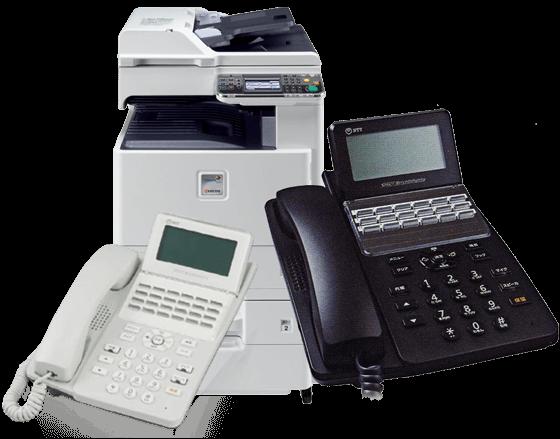 通信回線からビジネスホン・FAX・複合機・ネットワーク機器・Webカメラ・UTM(統合セキュリティ管理) 機器のコンサルティング、販売