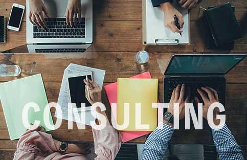 ホームページ制作、ECサイトの運用管理などIT関連のコンサルティング